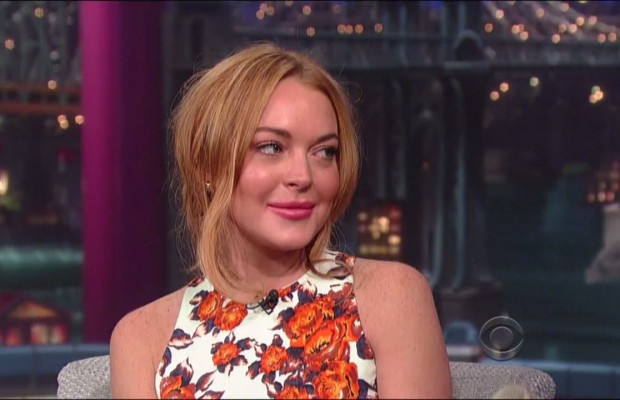 Lindsay Lohan interview with David Letterman